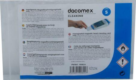 Dacomex - Carte de nettoyage pré-imprégnée - pack 5