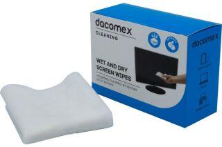 Dacomex duos - Boite de 2 x 10 lingettes pour Ecrans LCD/TFT