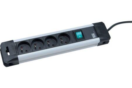 BACHMANN Multiprise 330.100F 4 prises avec interrupteur