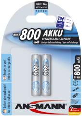 Pile recharg. LR03 maxE AAA ni-mh 800mAh - Blister de 4