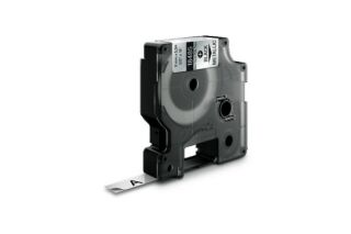 Ruban étiquette Dymo - Polyester Métal 9 mm
