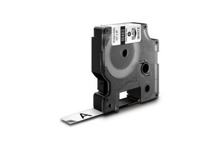 Ruban étiquette Dymo - Polyester Blanc 12mm