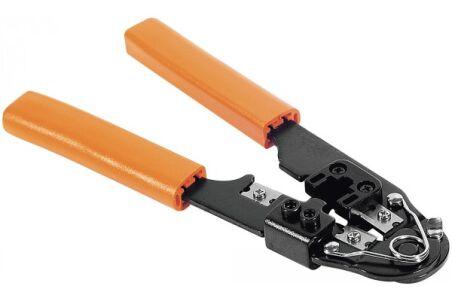 Kit de raccordement réseau RJ45 (pince à sertir + 20 connecteurs RJ45 UTP)