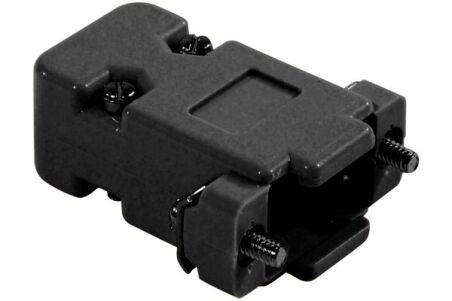 Capot DB9 - plastique noir à vis courtes