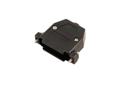 Capot DB25 - plastique noir à vis courtes