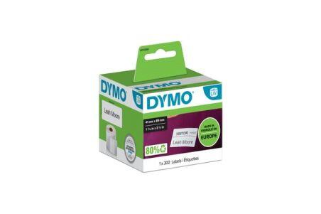DYMO Rouleaux de 300 étiquettes badge 89 x 41 mm