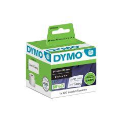 DYMO Rouleau de 220 étiquettes badge 101 x 54 mm