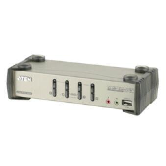 Aten  KVM CS1734B Master View .  USB avec câbles - 4 U.C.