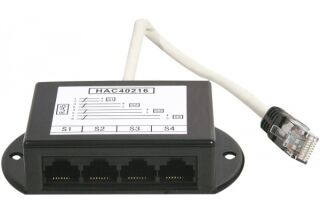 Repartiteur telephonique RJ45/RJ11 - 4 voies