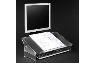 Porte copie / document en Acrylique - Hauteur réglable