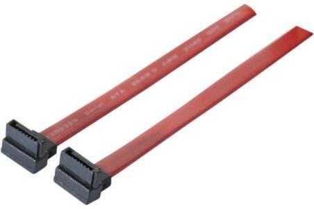 Câble SATA 2x coudes vers le bas - 50 cm