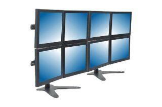 DATAFLEX Support de bureau Viewmaster 53833 - 8 écrans