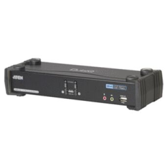 Aten CS1782A KVM DVI/USB 2 ports +Audio 7.1 Support vidéo 3D
