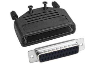 Kit connecteur à souder + capot - SUBD25 F