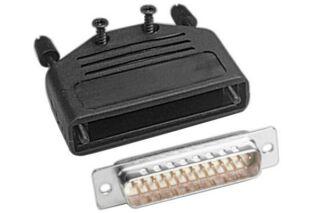 Kit connecteur à souder + capot - SUBD25 M