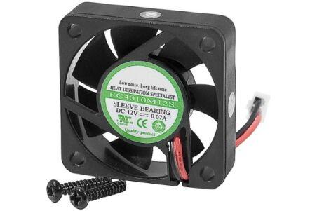Ventilateur 40mm 12V 2 fils pour rack amo