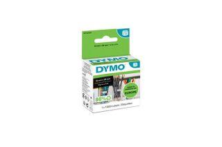 Rouleau dymo 1000 etiquettes 24x12 mm pour labelwriter