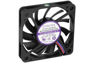 Ventilateur lubrifié à vie - 60x60x10