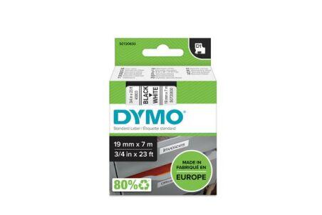 DYMO Ruban D1 - 19 mm noir sur blanc