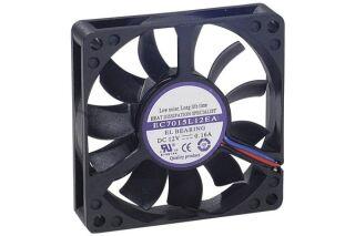 Ventilateur lubrifié à vie - 70x70x15