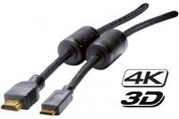 Cordon HDMI haute vitesse vers miniHDMI HQ - 3,0 m