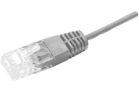 Cordon utp 2P surmoule RJ45/RJ45 telephone 100 ohms - 5M