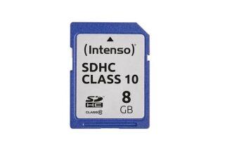 INTENSO Carte SDHC Class 10 - 8 Go
