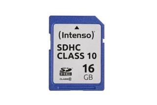 INTENSO Carte SDHC Class 10 - 16 Go