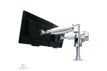 DATAFLEX Bras de bureau Viewmaster 57592 - 2 écrans