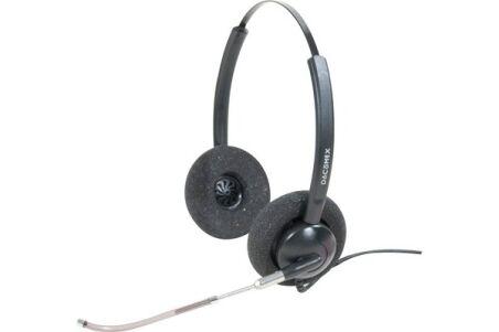 Dacomex casque Pro Audio Tube telescopique - 2 écouteurs