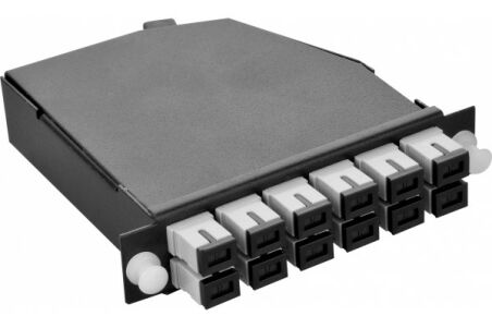 Cassette OM3 MPO vers 6 LC quad