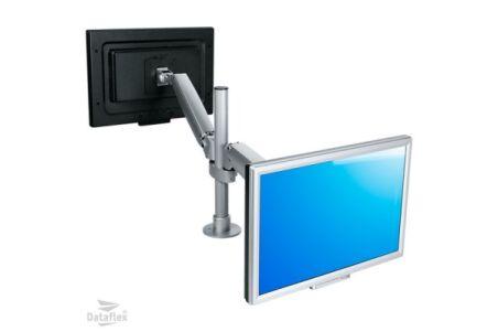 DATAFLEX Bras de bureau Viewmaster 57582 - 2 écrans