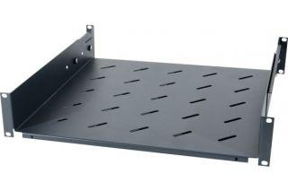 Etagère fixe universelle pour baie prof 650 / 800 mm noir