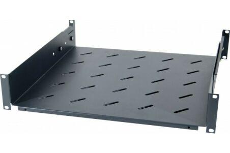 Etagère fixe universelle pour baie prof 420 / 570 mm noir