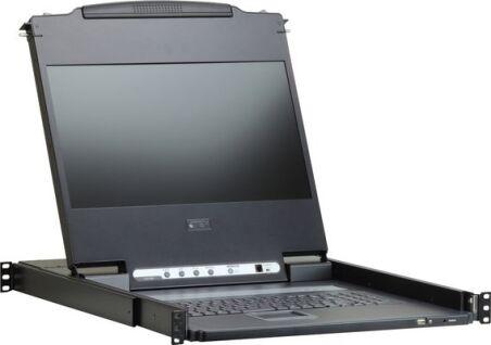Aten CL6700MW console LCD HDMI-DVI-VGA/USB Full HD 1080P