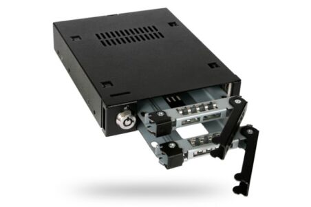 ICY DOCK Rack amovible MB992SK-B 2 disques SATA 2.5""