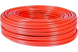 cable multibrin s/ftp CAT6 rouge - 100M