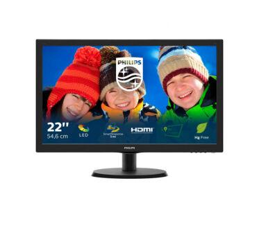 Ecran PHILIPS V-Line 223V5LHSB VGA/HDMI - 21.5''