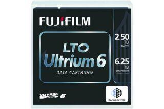 Cartouche FUJIFILM LTO Ultrium 6 2.5To/6.25To