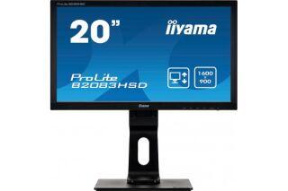 Ecran IIYAMA B2083HSD-B1 VGA/DVI + HP - 20''