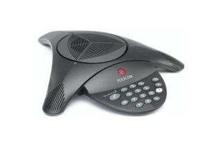 POLYCOM SoundStation 2 Télé-conférencier analogique sans écran LCD