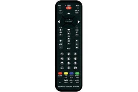 Vivanco UR 12BN Télécommande Universelle 12 en 1