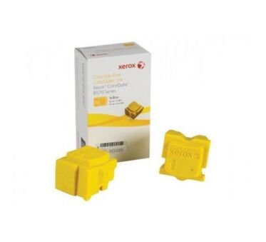 Encre Solide XEROX 108R00933 pour Phaser 8570 - 2 x Yellow
