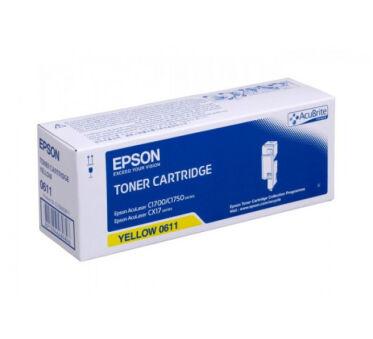 Toner EPSON C13S050611 - Jaune