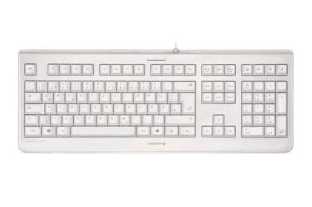 CHERRY Clavier étanche KC-1068 IP68 USB blanc QWERTY (US/Š)