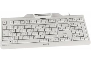 CHERRY Clavier (+cart puces) KC-1000 SC USB blanc (FR)