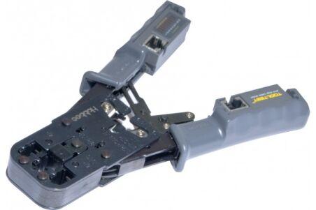 Pince à sertir avec testeur RJ45 intégré