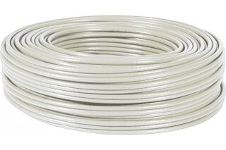 Câble multibrin S/FTP CAT6A LS0H gris - 100 m