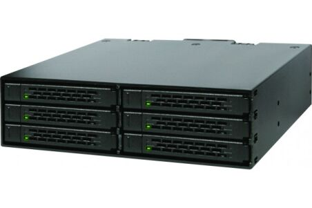 "ICY DOCK Backplane MB996SP-6SB 6 disques SATA 2""5"