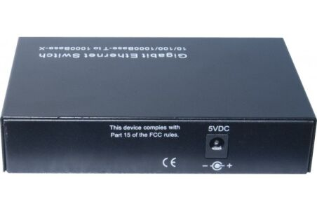 switch 4P Gigabit dont 2 ports fibre sfp 1000SX/LX